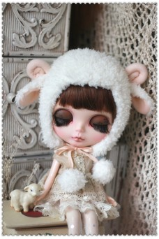 Sheep hat For Blythe
