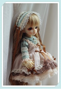 Summer Tea Dress Set For YOSD