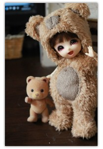 Bear Outfit for Lati Yellow / PukiFee