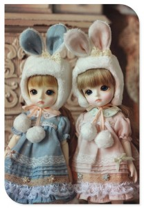 Yosd-Bunny Sister Dress Set for YOSD