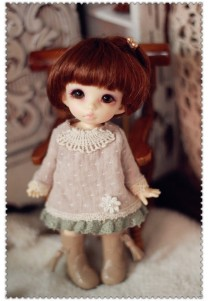 Dress for Pukifee or Lati Yellow