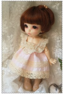 Pink Dress for Pukifee or Lati Yellow